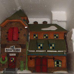 Department 56 display building McGrebe shop MIB